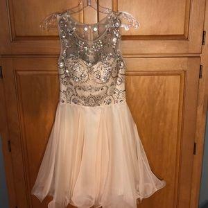 Vanilla/Cream Formal Dress
